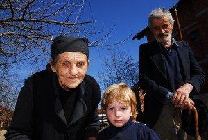 nonni e nipote serbi