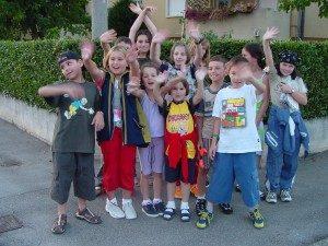 gli orfani di Sarajevo in Italia nel 1998